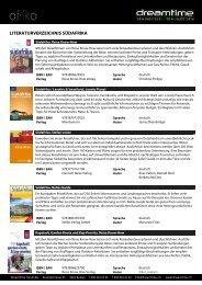 Literaturverzeichnis AFRIKA - Dreamtime Travel
