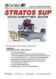 Stratos SUP05-Rollpult - CNC Kunststoff