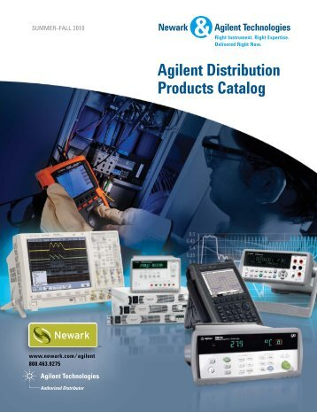 Agilent Distribution Products Catalog, Summer-Fall 2010 - Newark