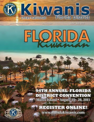 register online! - Florida Kiwanis