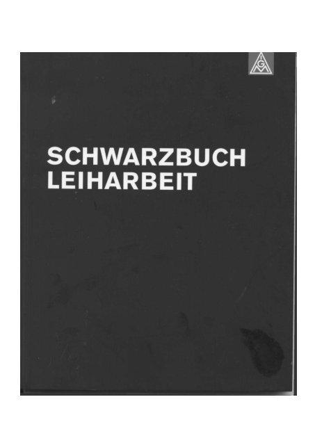 Schwarzbuch Leiharbeit - Antileiharbeits-Initiative Düsseldorf