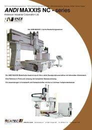 ANDI MAXXIS NC - series - CNC Kunststoff