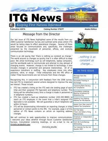 Publication 4267-A (Rev. 07-2007) - Internal Revenue Service