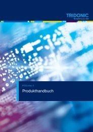 Produkthandbuch PCA xitec II - Tridonic GmbH & Co KG