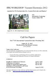 Call for Papers - IHE - KIT