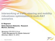 Interworking of traffic steering and mobility robustness optimization ...