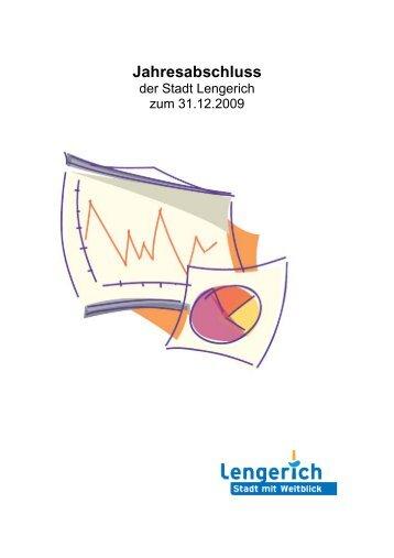Download Jahresabschluss 2009 - Stadt Lengerich