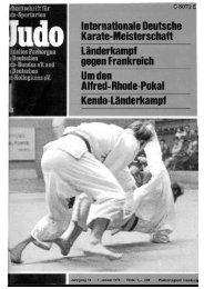 DJB-Magazin Nr. 1 - Chronik des Karate