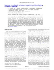 Response of multiscale turbulence to electron cyclotron heating in ...