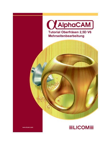 Kapitel 2 Erzeugen der Geometrie - AlphaCAM