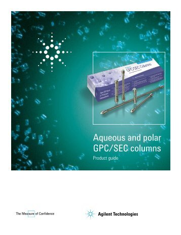 Polymer Labs aqueous and polar GPC/SEC columns - hplc.eu
