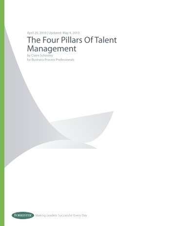 the four pillars of talent management lawson software