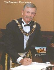 March - Grand Masonic Lodge of Montana