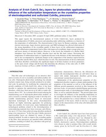 "Analysis of S-rich CuIn""S,Se…2 layers for photovoltaic applications ..."