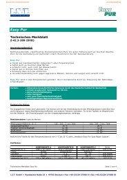 Easy PUR - Technisches Merkblatt - Ist-web.com