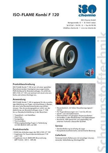 ISO-FLAME Kombi F 120 - ISO Chemie GmbH
