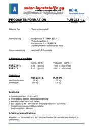 PUR-2K-Schaum 233 Weichschaum Komp. A