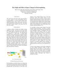 The Origin and Effect of Space Charges in Electrospinning