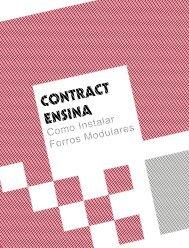 Contract Ensina: Como Instalar Forros Modulares