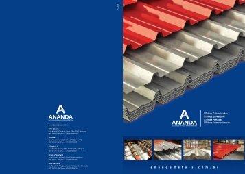 Catálogo Ananda Telhas - Cemear.com.br