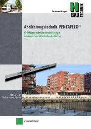 Abdichtungstechnik PENTAFLEX® - JORDAHL & H-BAU Österreich