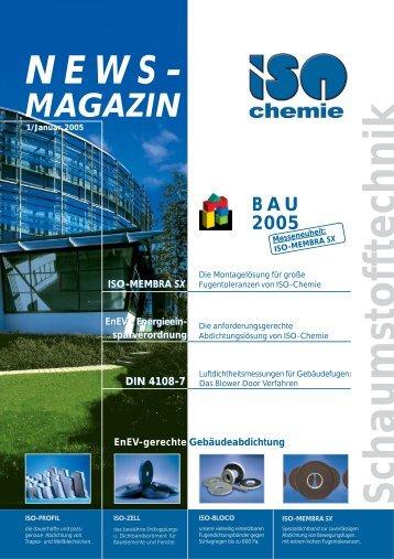 Schaumstofftechnik - ISO Chemie GmbH