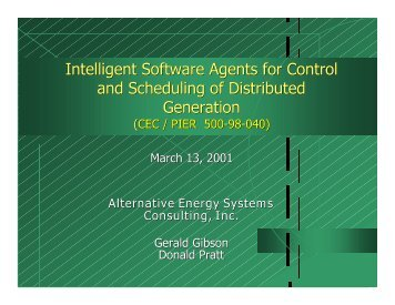 Smart - Alternative Energy Systems Consulting, Inc.