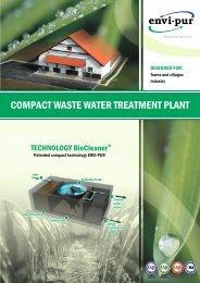 Compact WWTP - ENVI-PUR