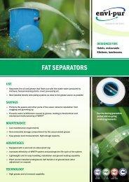 Fat separator - ENVI-PUR
