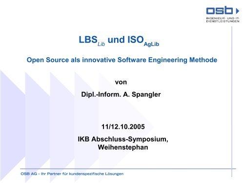 LBS lib und ISO AgLib - IKB-Dürnast