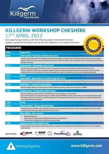 Killgerm worKshop Cheshire 17TH April 2012 - Killgerm Chemicals