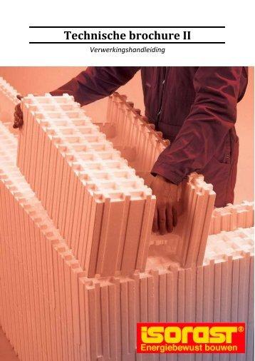Technische brochure II - isorast