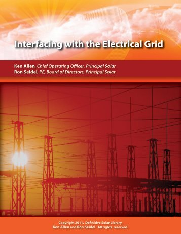 Interfacing with the Electrical Grid - Solar Institute