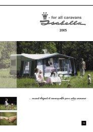 2005 ... auvent élégant et remarquable pour votre caravane - Isabella