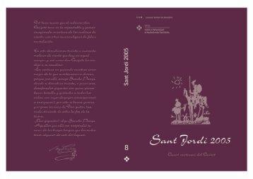 Llibre de Sant Jordi 2005 - Parc de Salut Mar