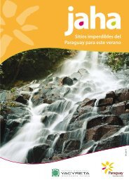 Sitios imperdibles del Paraguay para este verano