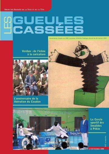en format PDF - Gueules Cassées