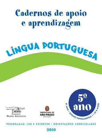 LP_conteudo_Aluno_5Ano - Secretaria Municipal de Educação