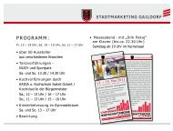 sTadTMarKeTing gaiLdorF - Stephan Holzleimbau GmbH+Co. KG