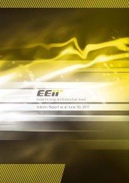 Interim Report as at June 30, 2011 - EEII AG