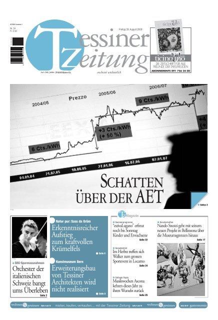 Tessiner Zeitung E Paper Anmeldung