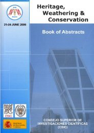 Heritage, Weathering and Conservation 2006