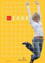 Jaarverslag Acasa 2006 - De Veste