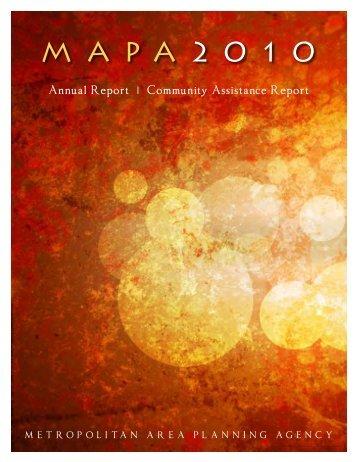 MAPA Annual Report - Douglas County, Nebraska