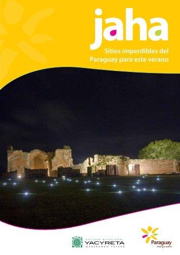 Sitios imperdibles del Paraguay para este verano - Turismo en ...
