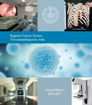 Annual Report - Regional Cancer Centre