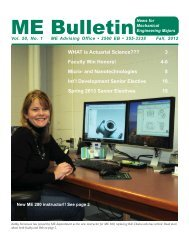ME BulletinNews for - College of Engineering, Michigan State ...