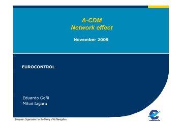 Agenda Item 4.2 - Airport CDM Network Delay Analysis