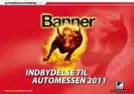 Indbydelse til Automessen 2011