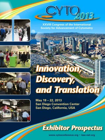 Innovation, Discovery, and Translation - CYTO 2013